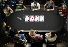 Miniature d'une table de Bwin Poker